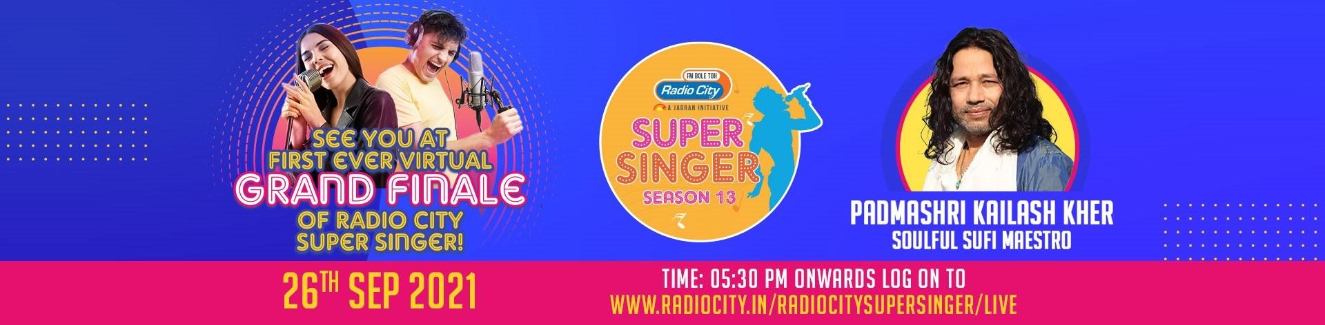 Radiocity super singer banner