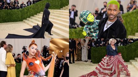 Kim Kardashian West, Debbie Harry, Franck Ocean:  Absurd looks from the Met Gala that need to be on your radar