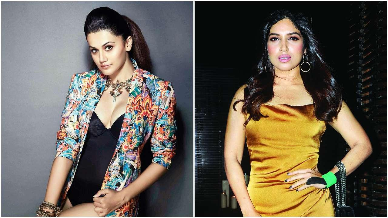 Another biopic in Bollywood? Taapsee and Bhumi being considered